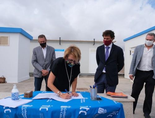 Firmado el contrato entre el ITC, Ayagaures y Ataretaco-Ecatar para la producción de Biocombustible