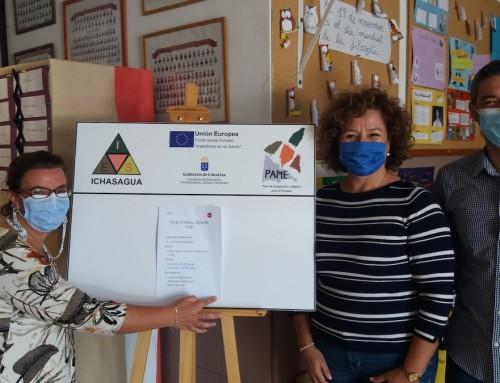 Las Empresas de Inserción de Ataretaco imparten un Taller sobre Empleo en el IES de Los Cristianos